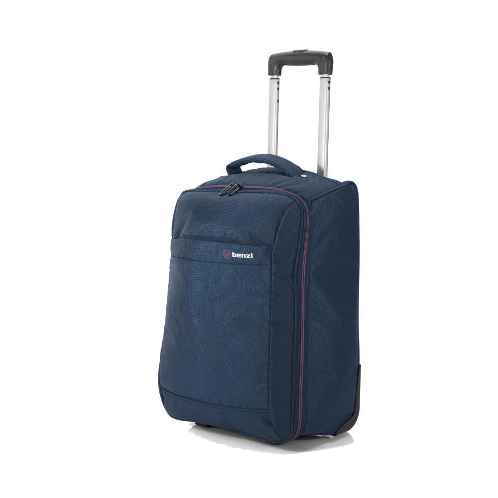 Βαλίτσα Καμπίνας BENZI Μπλε Αναδιπλούμενη ΒΖ5565