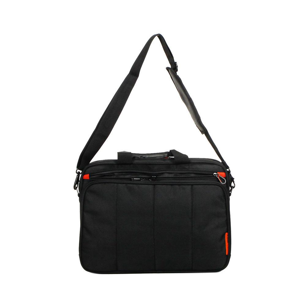 """Τσάντα Laptop-χαρτοφύλακας 15.6"""" DAVIDTS Μαύρη 257250-01"""