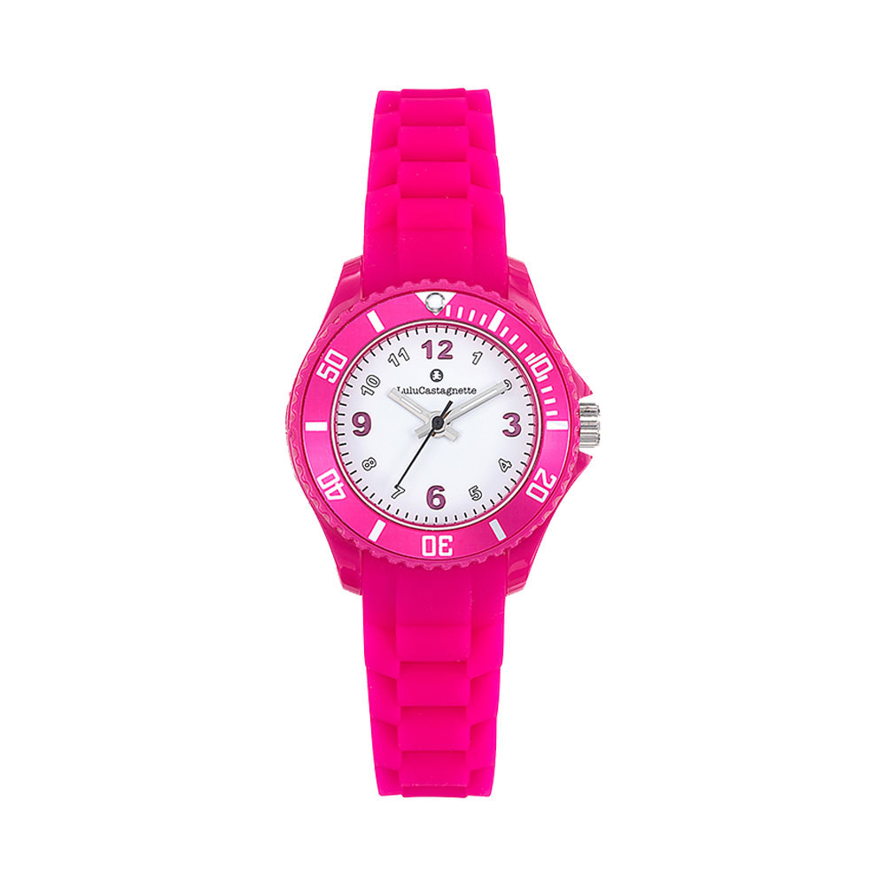 Παιδικό Ρολόι Lulu Castagnette Lulu Walk Ροζ 38871