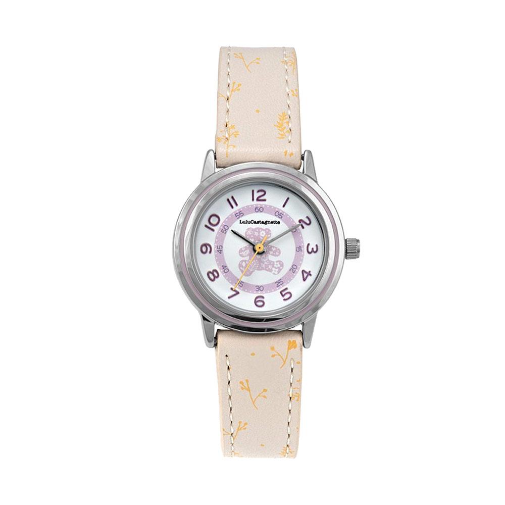 Παιδικό Ρολόι Lulu Castagnette Douceur Πορτοκαλί 38902