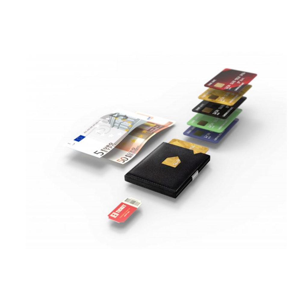 Πορτοφόλι Exentri Black EXW001