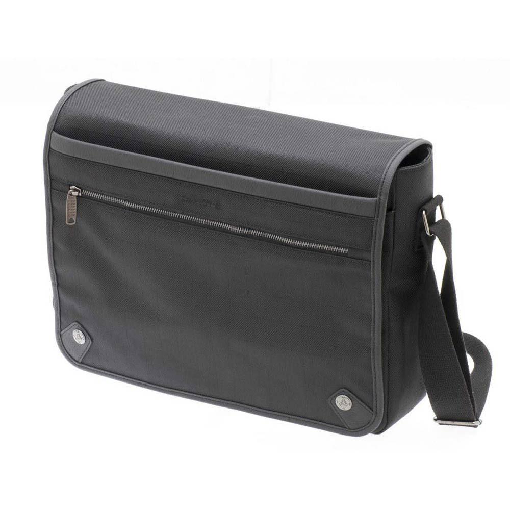 """Τσάντα Laptop 15""""-Ταχυδρόμου DAVIDTS Μαύρο 259430-01"""
