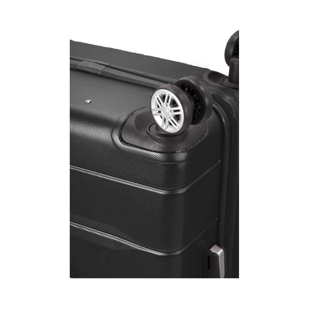 Σετ 3 Βαλίτσες BENZI Μαύρο BZ5583