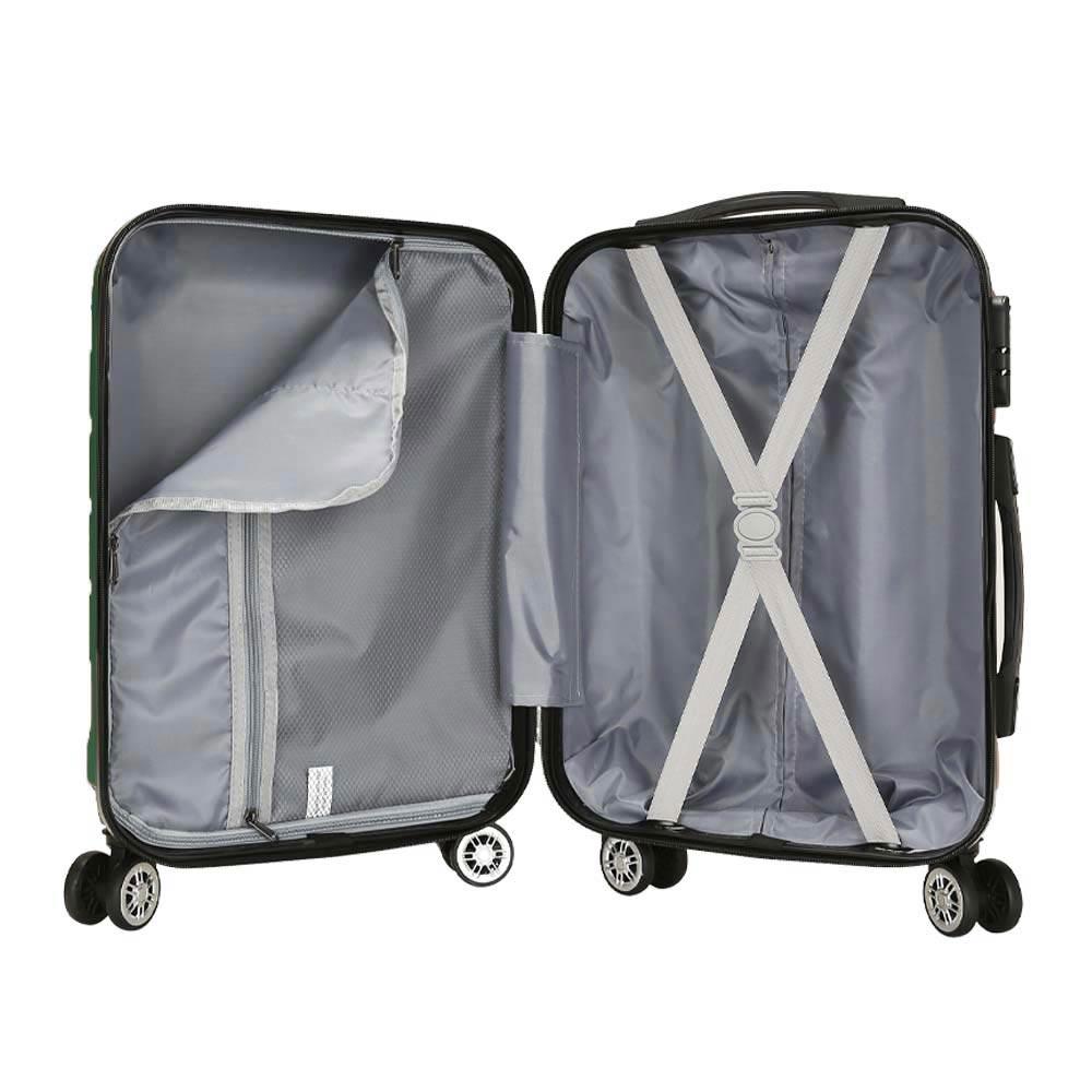 Σετ 3 Βαλίτσες SHOWKOO Πράσινο HT007