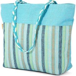 Τσάντα Θαλάσσης BENZI Σιέλ BZ5070