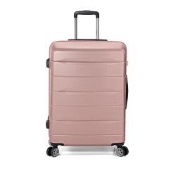 Βαλίτσα Μεγάλη BENZI Ροζ/Χρυσό BZ5583