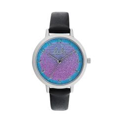 Παιδικό Ρολόι Lulu Castagnette Stella Μαύρο 38906