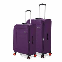 Σετ 2 τεμαχίων (Βαλίτσα Καμπίνας & Μεσαία) BENZI Μωβ BZ5571