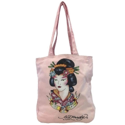 Tote bag ED HARDY ORIGINAL Ροζ ED05