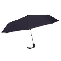Ομπρέλα Αυτόματη Σπαστή BENZI Μαύρη PA065