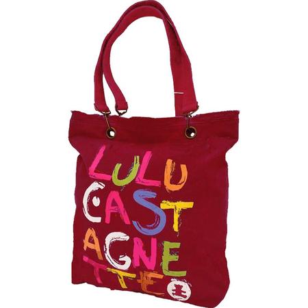 Τσάντα Ώμου LuluCastagnette Κόκκινη 15007