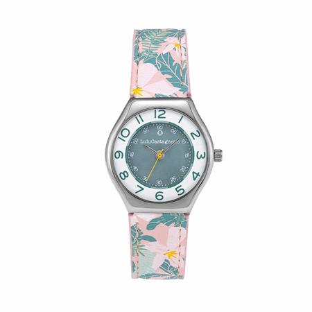 Παιδικό Ρολόι Lulu Castagnette Ministar Style Πράσινο 38908