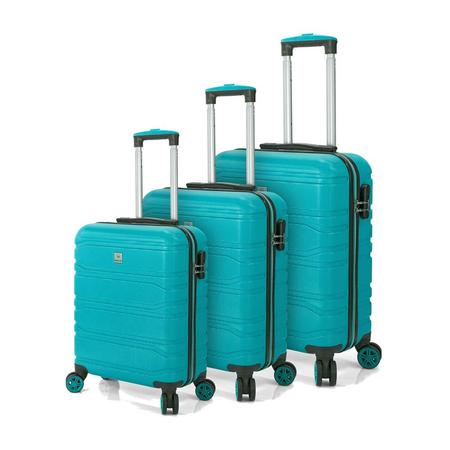 Σετ 3 Βαλίτσες BENZI Σιελ BZ5523