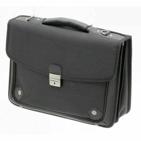 """Τσάντα Laptop-Χαρτοφύλακας 15"""" DAVIDTS Μαύρη 259101-01"""
