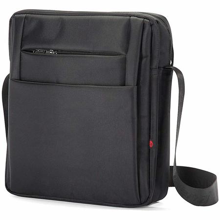 Τσάντα Ώμου με πολλές θήκες Μαύρο