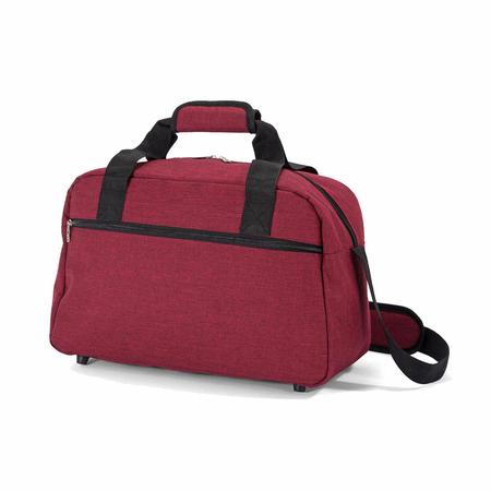 Σακ Βουαγιάζ μικρoύ μεγέθους, under seat σε κόκκινο χρώμα