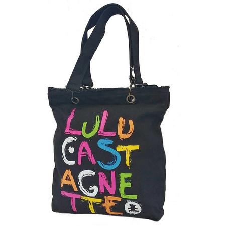 Τσάντα Ώμου LuluCastagnette Μαύρη 15001