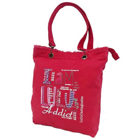 Τσάντα Ώμου LuluCastagnette Κόκκινη 15002