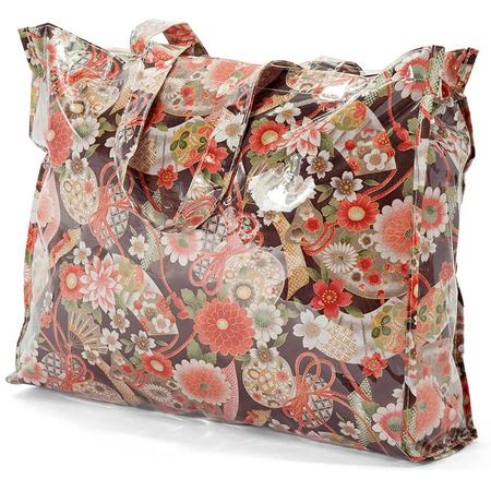 Τσάντα Shopping BENZI Καφέ/Πορτοκαλί BZ5400
