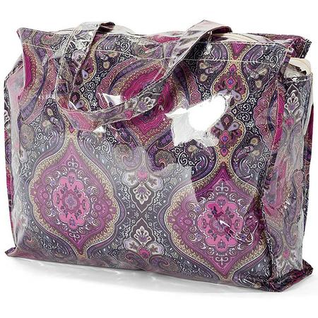 Τσάντα Shopping BENZI Μωβ BZ5400
