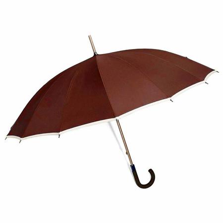Ομπρέλα Χειροκίνητη Μπαστούνι BENZI Κεραμιδί PA005