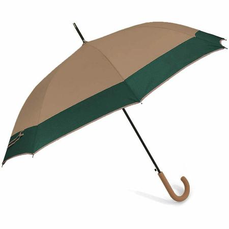 Ομπρέλα Αυτόματη Μπαστούνι BENZI Μπεζ PA084
