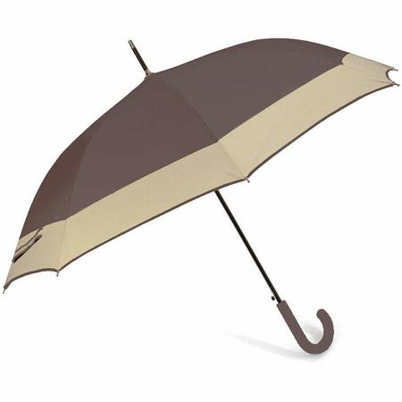 Ομπρέλα  Αυτόματη Μπαστούνι BENZI Καφέ PA084