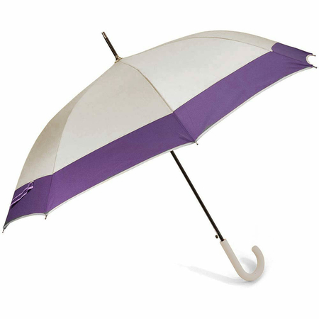 Ομπρέλα Αυτόματη Μπαστούνι BENZI Γκρι/Μωβ PA084