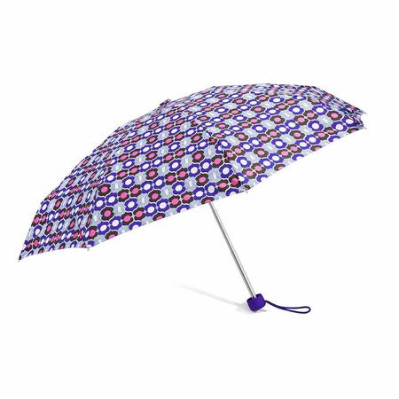 Ομπρέλα Χειροκίνητη Σπαστή BENZI Μωβ PA091